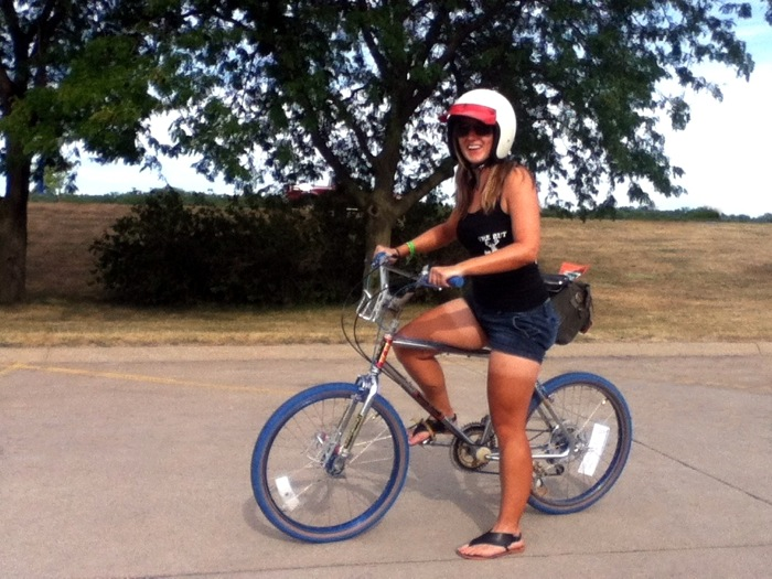 OS Old School BMX Girl