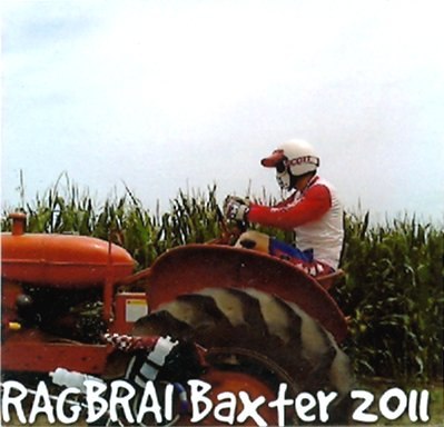 RAGBRAI Tractor in Baxter, Iowa BMX Mongoose