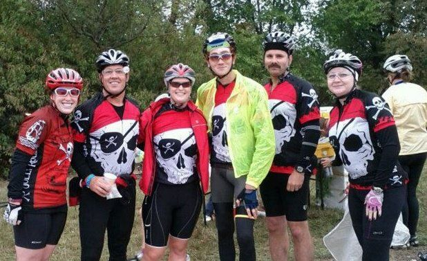 The Dread Pirates Cycling Team!