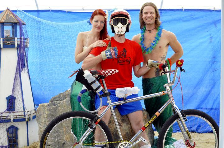 mongoose kos kruiser 2012 Kimballton Iowa Mermaid and Merman RAGBRAI
