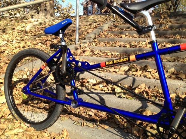 Rad Tandem BMX Mongoose Dual 2 Bottom Brackets