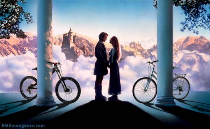 The Princess Bride Cycling Bicycles Bikes BMX Mongoose